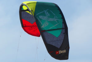 2014 Best TS 12m kiteboarding kite