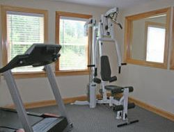The weight room in our Hatteras house