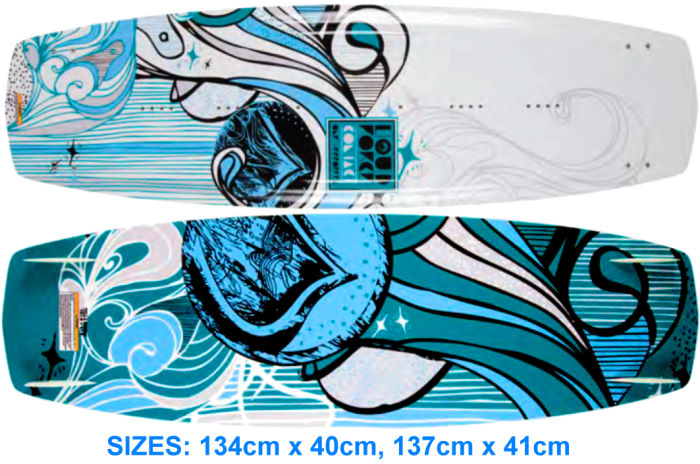 2012 Liquid Force Contact kiteboard