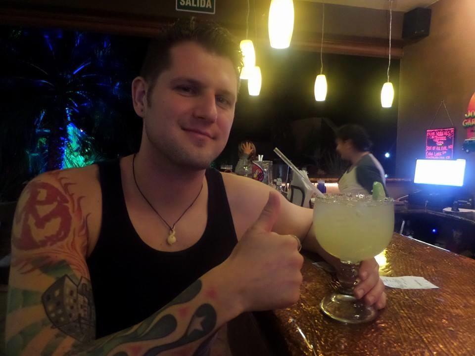 Ryan living the life in La Ventana