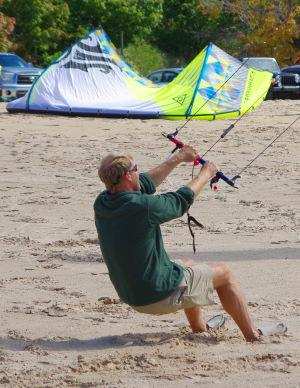 Trainer kite bar