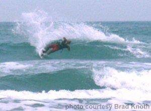 Scott Guy catching a wave