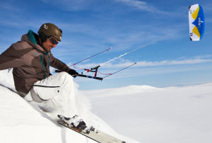 HQ Apex III 10m snowkite