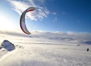 HQ Montana VI 9.5m snowkite