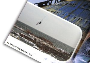 Andy Bolt in The Kiteboarder magazine