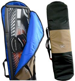 Use your board bag to protect the rest of the board