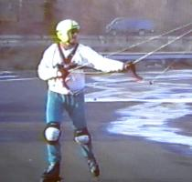 Lee Sedgwick Rollerblading