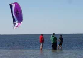 learn to kiteboard fast in the best conditions