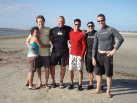 kiteboarders are great people