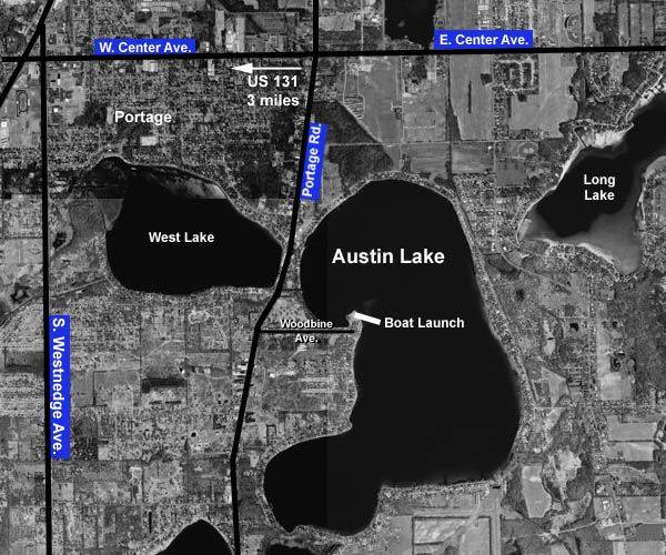 austin lake map