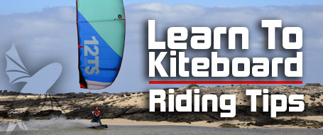 Riding tips for Kiteboarding.