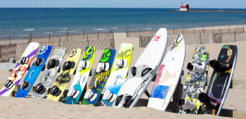 So many kiteboards to choose from