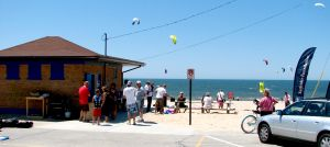 The Kitesurfing School House in Muskegon, Michigan