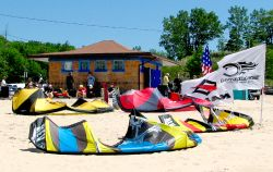 kiteboarding shop and school