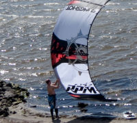 Slingshot RPM 2012 kiteboarding kite review