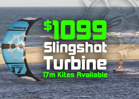 2015 Slingshot 17m Turbines now only $1099!