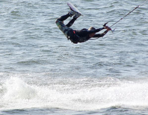kiteboarding progression