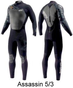 Assassin 5/3 wetsuit