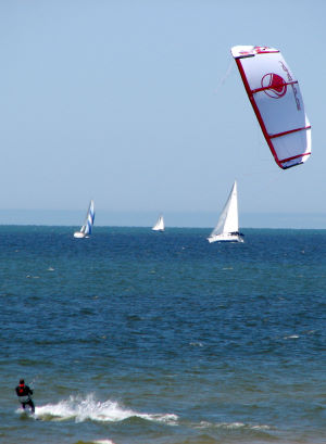 sailing and kiteboarding