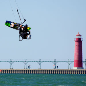 Kiteboarding tricks