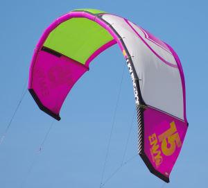 2014 Liquid Force Envy 15m kiteboarding kite