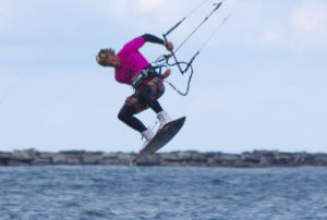 Freestyle kiteboarding style