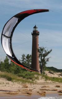 Self-landing a C-kite