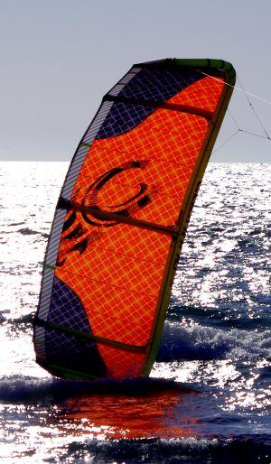 Self-landing your Cabrinha kiteboarding kite in the water